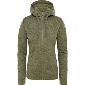 The North Face Kutum Full-Zip Hoodie Women four leaf clover heather
